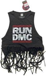 Run DMC - Logo Vintage Ladies Babydoll Tassel Vest Xx-large