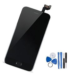 newest da600 73f77 Yodoit For Iphone 6S Lcd Display And Digitizer Assembly Glass Touch Screen  Replacement With Frame Spare Parts Front Camera Proximity Cable Home Button  ...