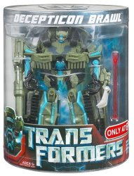 Transformers Movie Deluxe Exclusive Figure In Canister Decepticon Brawl