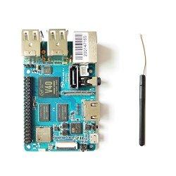 SmartFly Tech Banana Pi Bpi M2 Berry Dual Core Mali 400 MP2 Gpu 1G LPDDR3  Open-source Development Board Same Size As Raspberry P