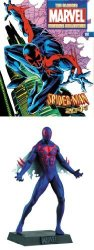 Eaglemoss The Classic Marvel Figurine Collection 197 Spider-man 2099 Lead Figure With Magazine