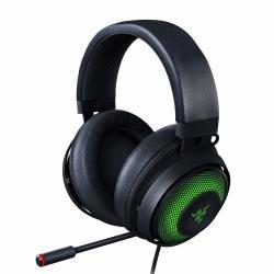 Kraken Razer Ultimate Rgb USB Gaming Headset: Thx 7.1 Spatial Surround Sound - Chroma Rgb Lighting - Retractable Active Noise Cancelling MIC - Aluminum