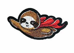 Super Hero Panda Bear Flying Cartoon Embroidery Patch Panda Polar Teddy Bear Animal Wild Embroidered Applique Diy Sign Badge Sew On Iron On Patch