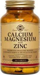 Solgar Calcium Magnesium Plus Zinc Tabs 100