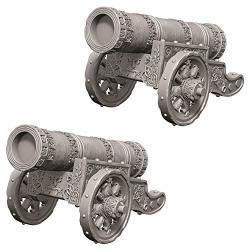 Wizkids Deep Cuts Unpainted Miniatures: W9 Large Cannon