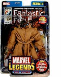 Marvel Legends Series 2 The Thing In Trenchcoat Action Figure