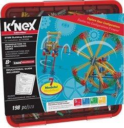 K'NEX Education - Intro To Simple Machines: Gears Set 198 Pieces Grades 3-5 Engineering Educat