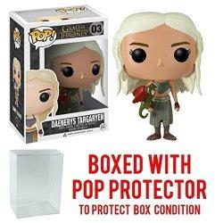 Funko Pop Game Of Thrones - Daenerys Targaryen Vinyl Figure Bundled With Pop Box Protector Case