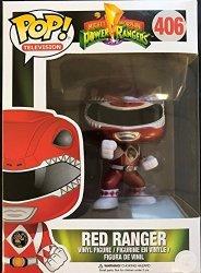 Funko Pop Mighty Morphin Power Rangers Metalic Red Ranger Action Vinyl Figure