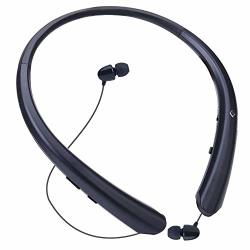 Bluetooth Headphones Wireless Linyy Neckband Headset Retractable Earbuds Sports Sweat Proof Noise Cancelling Stereo Earphones With Mic For Bluetooth Enabled Devices Black Prices Shop Deals Online Pricecheck