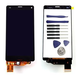 Ixuan For Sony Xperia Z3 Compact MINI D5803 D5833 Lcd Display Touch Screen Digitizer Assembly Replacement Repair Part Black