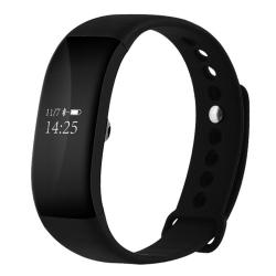 V66 0.66 Inch Bluetooth Smart Bracelet Support Heart Rate Monitor Pedometer Calls Remind Sleep Monitor Sports Monitor Alarm Anti-lost Compatible With Android And Ios Phones Black