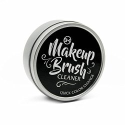 BK USA Product Bk Makeup Brush Cleaner And Color Removal Sponge - Quickly Clean And Remove Eye Shadow Or Blush Color From Makeup