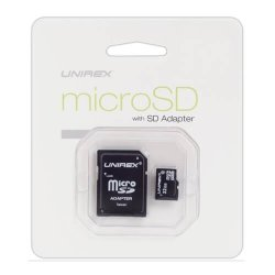 Unirex MSU-042 4GB Micro Sd Card With USB Reader And Sd Adaptor