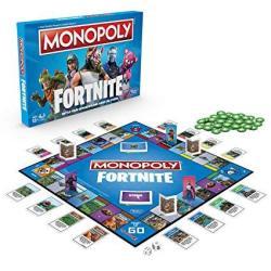 Monopoly E6603102 Fortnite Edition Board Game Multi-color