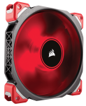 Corsair ML140 Pro Magnetic Levitation 140MM Fan Red LED Single
