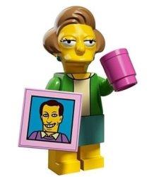 Lego The Simpsons Series 2 Collectible Minifigure 71009 - Edna Krabappel