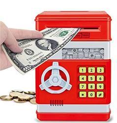 Liberty Imports Electronic Money Safe Piggy Bank With Password Key