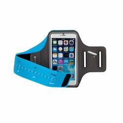 Sports Mobile Phone Arm With Wrist Bag Almighty Sweat-proof Sports Arm Band For Running jogging riding Blue Color : A