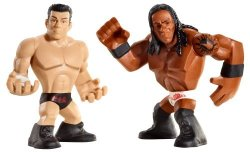 Mattel Wwe Rumblers Booker T And Cody Rhodes Figure 2-PACK