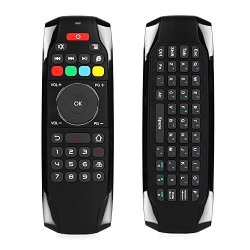 Walmeck Air Mouse Wireless Keyboard Remote Control Infrared Remote Learning  6-AXIS Motion Sensing For Smart Tv android Tv Box pc | R820 00 | Remote