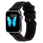 UOSOSO Lwsengme Silicone Sport Replacement Strap With Adjustable Buckle And Quick Release For Apple Iwatch Series 2 Apple Watch