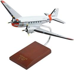 Mastercraft Collection Curtiss C-47A Skytrain Silver Model SCALE:1 72
