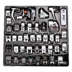Petift 42 Pcs Domestic Sewing Machine Presser Feet Set Professional Sewing Foot Accessories Tools For Brother Babylock Singer El