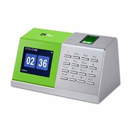 ZKTeco CT20 Fingerprint Time Attendance Machine Biometric Time Clock For Employee Small Business No Installation And No Software Needed