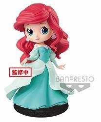 Banpresto - Figurine Disney - Ariel Green Dress Q Posket Characters 14CM - 3296580824502