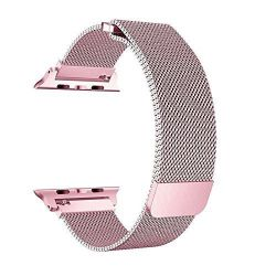 Milanese Loop For Apple Watch - Pink 38MM