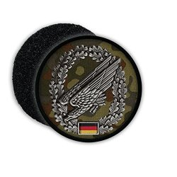 ALFASHIRT Paratroopers Beret Insignia German Spot Tarn Eagle Badge Germany Coat Of Arms - Patch Patches