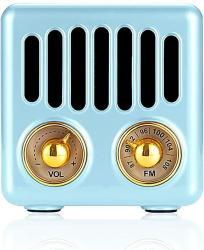 Retro Radio Vintage Bluetooth Speaker Fm Radio 800MAH Rechargeable Battery With Speaker Best Sounds Design Lovely Apperance Supp