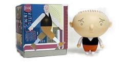 Chris Ware Jimmy Corrigan Vital Animus Designer Vinyl Figure Doll By Press Pop