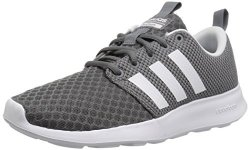 Adidas Men's Cf Swift Racer Sneaker Grey Four Fabric Core Black Ftwr White 9 M Us