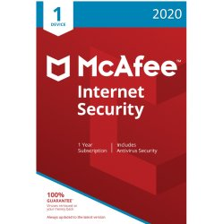 McAfee Internet Security 2020 1 Device 1 Year