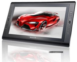 Bosto Kingtee Pen Display Tablet Tilt Type Stand Type A