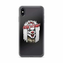 Here's Penny Stephen King It The Horror Movie Pennywise Halloween S It Clear Shockproof For Iphone XS Max
