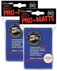 Ultra Pro Pro-matte Standard Deck Protectors Pack Of 100 Blue