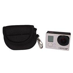 Super Light Anoder MINI Protective Neoprene Camera Case Bag For Gopro Hero 4 3+ 3 2