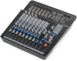 Samson MPX144FX 14 Channel Analog Stereo Mixer With Effects And USB Black