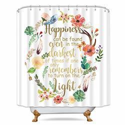 ykkj lightinhome harry potter quotes shower curtain hogwarts