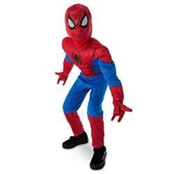 Marvel Spider-man Ultimate Light-up Costume For Kids Multi