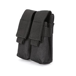 TACTICAL Nehostertfy Double Pistol Magazine Pouch Mag Holder