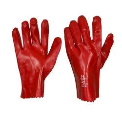 PVC Gloves Medium Weight 20CM Cuff