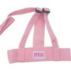 4AKID Harness Pink Stripes