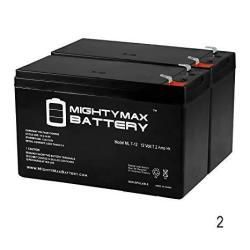 Mighty Max Battery 12V 7AH Replaces Razor Pocket Mod MINI Euro Electric Scooter - 2 Pack Brand Product