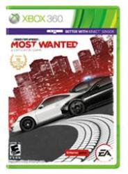 Xbox 360 Game - Need For Speed Most Wanted Retail Box No Warranty On Software 5030947113056