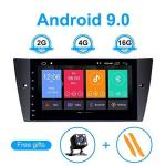 Toopai For Bmw E90 E91 E92 E93 Android 9.0 Car Radio Stereo Gps Navigation With 9 Inch HD Screen Support Screen Mirror 4G Wifi