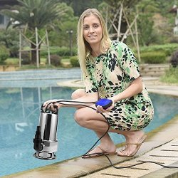 Creine 1 5HP 1100W Submersible Clean Dirty Water Pump Stainless Steel  Swimming Pool Sump Pump With 15FT Cable & Float Switch Us   R2800 00   Car  Parts